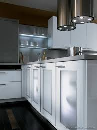 frosted glass cabinet doors and lighted shelves alno com kitchen regarding decorations 7