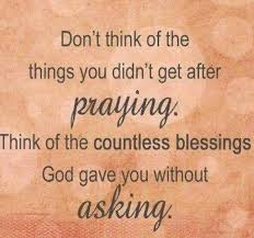 Countless Blessings Quotes Define Anything And Everything Simple Blessings Quotes