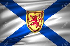 Nova Scotia 3D Waving Flag Illustration ...