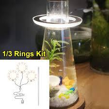 hateli】 ( kích thước 16.5cm/3.5w ) giá đỡ bể cá đèn đèn hồ cá, chiếu sáng  lội nước, đèn led cho cây thủy sinh đèn led lặn bể cá đèn không thấm