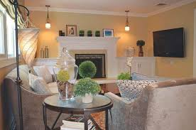 Living Room Furniture Arrangement With Tv Magnificent How To Arrange Living Room With Fireplace And Tv Ideas