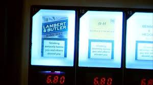 Ban On Cigarette Vending Machines Extraordinary Ban On Cigarette Machines In Pubs In England BBC News