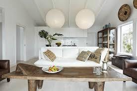idee-deco-salon-style-scandinave-table-bois-massif - Kenisa Home