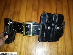 Double Magazine Pouch With Handcuff Holder ARMSLIST For Sale Duty Belt With Accessories 89