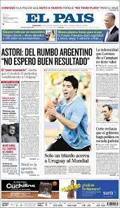 Newspaper El País (Uruguay). Newspapers in Uruguay. Friday's edition, March  22 of 2013. Kiosko.net