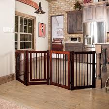 simple diy wooden pet gate