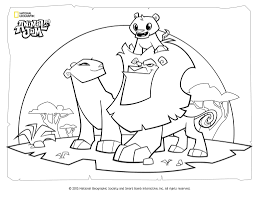 Animal Jam Coloring Pages Lynxllllll L