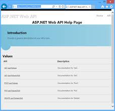 Microsoft Web Page Templates Creating Help Pages For Asp Net Web Api Microsoft Docs