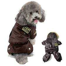 Refial USA Pet Air Force Costume, Dog Cold Weather Coats, Dog Halloween  Costumes Hoodie Waterproof Rainproof Dog Clothes For Small Medium Large Dogs  ...