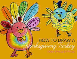 thanksgiving turkey drawing for kids. Fine Thanksgiving A Fun Thanksgiving Arts And Crafts Project For Kids That Teaches Boys  Girls How To In Turkey Drawing For Kids