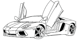 Coloring Pages Of Cool Cars Koshigayainfo