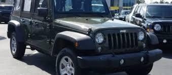 2018 jeep wrangler unlimited sport in dark green