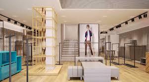 Interior Design For Menswear Mens Clothing Chain Store Interior Design Ideas Boutique