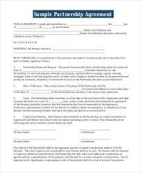 A partnership deed is the most important document required while entering into a partnership. Free 48 Contract Agreement Templates In Pages Google Docs Ms Word Pdf Excel