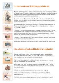 Formati Brochure Pads Blocks Cartiera Magnani