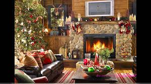 Living Room Decorating For Christmas Simple Christmas Decorated Living Rooms Ideas Living Room Living