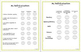 Student Self Evaluation (Kindergarten) By Kingdom Creations | Tpt
