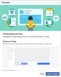 facebook pages professional services