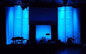 church stage lighting design