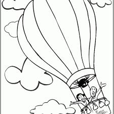 75 Kleurplaat Luchtballon Kleurplaat 2019