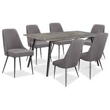 images of furniture. Perfect Images Macsen 7Piece Dining Package U2013 GreyBrown For Images Of Furniture