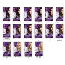 Wella Purple Colour Chart Wella Koleston Color Intense Foam Hair Color Hair