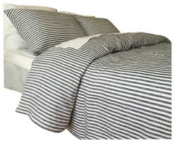 navy and white striped duvet cover set handmade twin