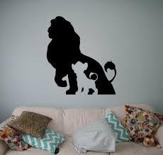 the lion king wall vinyl decal disney