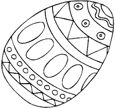 Free Printable Coloring Easter Eggs Egg Coloring Pages 2 Super Cute