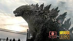 ฉากก็อตซิลล่าโผล่จากทะเล l Godzilla(2014) - YouTube