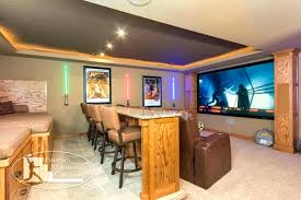 cool basement theater ideas. Perfect Basement Basement Theater Ideas Home Bar Theatre Room Design In Base For Cool M