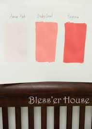 coral paint colorColor me pinkor gray or beige or aqua  Blesser House