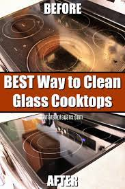 the best way to clean a glass cooktop