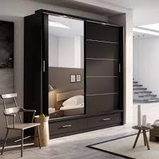 uncategorized likable sliding door system bedroom wardrobe wardrobes cupboards designs units furniture set mirrored style