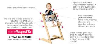 stokke tripp trapp high chair features