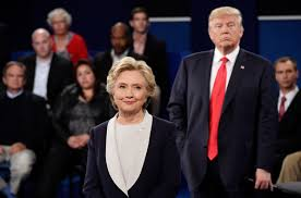 Image result for clinton /trump debate