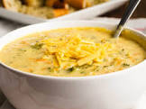 broccoli cheese soup for the soul