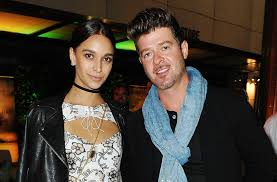 robin thicke 1990s. Exellent Thicke Robin Thicke Shares Sweet Pic With Girlfriend April Love Geary And Son  Julian After Settling Custody Battle On 1990s A
