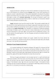 supply and demand essay conclusion buy law essay economics basics conclusion investopedia