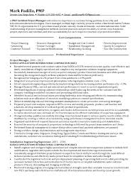 Telecom Project Manager Resume Sample Yun56 Co Best Solutions Of