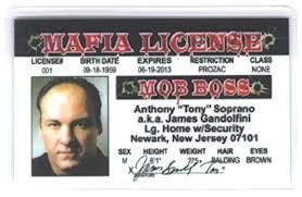 Fake com Soprano By 4 - Boss Amazon Fun Tony amp; Mob Fun License Games Id Signs Toys