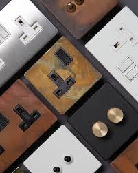 Designer Plug Designer Light Switches Dimmers And Plug Sockets