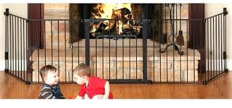 fireplace safety gate for babies wood stove baby gates hearth agreeable beyond