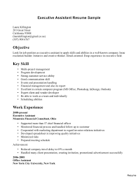 Resume Objective Administrative Assistant Examples Administrative Assistant Objective Samples Lovely Resume Sample Free 27