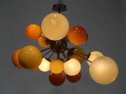 hand blown glass pendant lighting. Hand Blown Colored Glass | Pendant Lighting Finished Amber Champagne Gold O