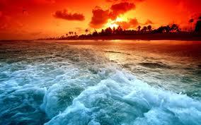 ocean sunset wallpapers. Simple Sunset Ocean Sunset Wallpapers  Wallpaper Cave Throughout S