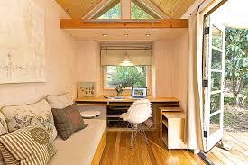 tiny home office. Vina\u0027s Tiny House Contemporary-home-office-and-library Home Office
