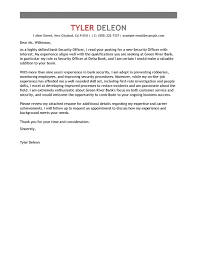 Cover Letter Livecareer Security Officer Cover Letter Sample Cover Letters Livecareer