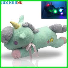 Light Up Stuffed Unicorn New Luminous Stuffed Unicorn Toy Led Light Up Plush Doll
