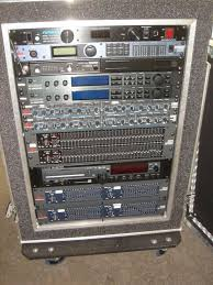 sound system rack. pa system effects rack sound y